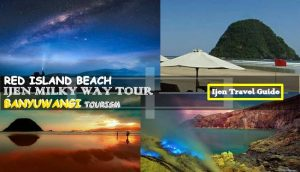 Ijen Milky Way Red Island Beach Tour 3 Days