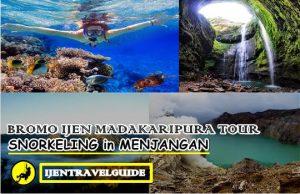 Menjangan Island Ijen Bromo Madakaripura Waterfall Tour