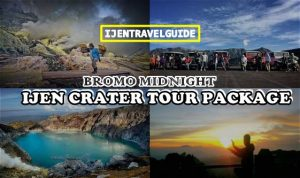 Bromo Midnight Ijen Tour Package
