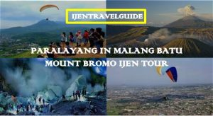 Mount Bromo Ijen Crater Paragliding Tour 3 Days