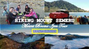 Hiking Mount Semeru Bromo Ijen Tour Package 5 Days