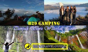 B29 Camping Mount Bromo Tumpak Sewu Waterfall 3 Days